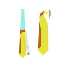 Abstract sun Neckties (One Side)