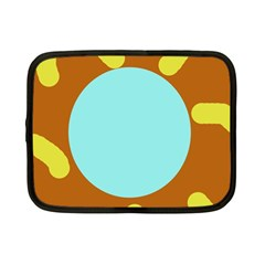 Abstract sun Netbook Case (Small)