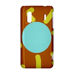 Abstract sun HTC Evo Design 4G/ Hero S Hardshell Case