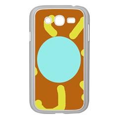 Abstract sun Samsung Galaxy Grand DUOS I9082 Case (White)