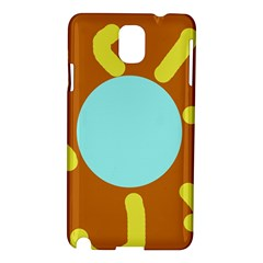 Abstract sun Samsung Galaxy Note 3 N9005 Hardshell Case