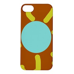 Abstract sun Apple iPhone 5S/ SE Hardshell Case