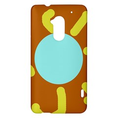 Abstract sun HTC One Max (T6) Hardshell Case