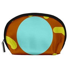 Abstract sun Accessory Pouches (Large)
