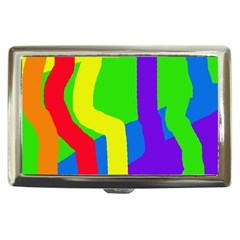 Rainbow abstraction Cigarette Money Cases