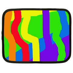 Rainbow abstraction Netbook Case (XXL)