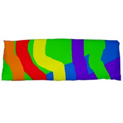 Rainbow abstraction Body Pillow Case (Dakimakura)