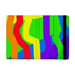 Rainbow abstraction Apple iPad Mini Flip Case