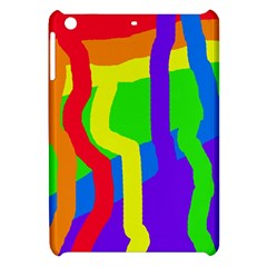 Rainbow abstraction Apple iPad Mini Hardshell Case