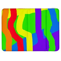 Rainbow abstraction Samsung Galaxy Tab 7  P1000 Flip Case