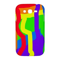 Rainbow abstraction Samsung Galaxy Grand DUOS I9082 Hardshell Case
