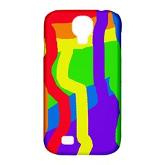Rainbow abstraction Samsung Galaxy S4 Classic Hardshell Case (PC+Silicone)