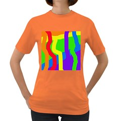 Rainbow abstraction Women s Dark T-Shirt