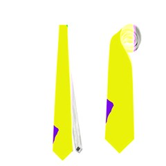 Rainbow abstraction Neckties (Two Side)