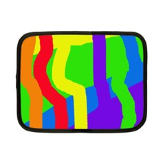 Rainbow abstraction Netbook Case (Small)