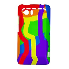 Rainbow abstraction HTC Vivid / Raider 4G Hardshell Case