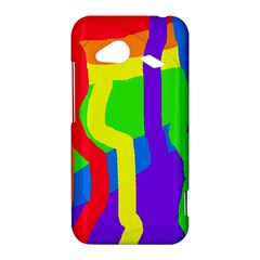 Rainbow abstraction HTC Droid Incredible 4G LTE Hardshell Case