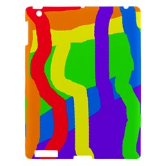 Rainbow abstraction Apple iPad 3/4 Hardshell Case