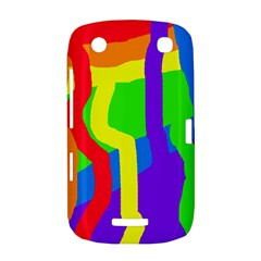 Rainbow abstraction BlackBerry Curve 9380