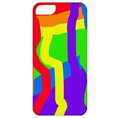 Rainbow abstraction Apple iPhone 5 Classic Hardshell Case