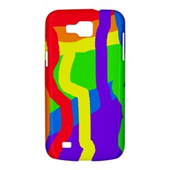 Rainbow abstraction Samsung Galaxy Premier I9260 Hardshell Case