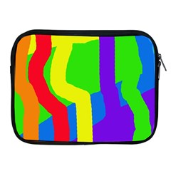 Rainbow Abstraction Apple Ipad 2/3/4 Zipper Cases