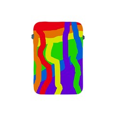 Rainbow abstraction Apple iPad Mini Protective Soft Cases