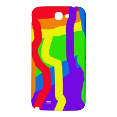 Rainbow abstraction Samsung Note 2 N7100 Hardshell Back Case