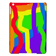 Rainbow abstraction iPad Air Hardshell Cases