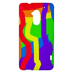 Rainbow abstraction HTC One Max (T6) Hardshell Case