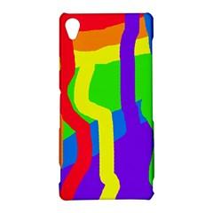 Rainbow abstraction Sony Xperia Z3