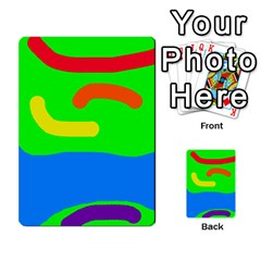 Rainbow abstraction Multi-purpose Cards (Rectangle)