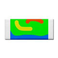 Rainbow abstraction Hand Towel