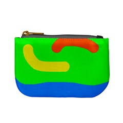 Rainbow abstraction Mini Coin Purses