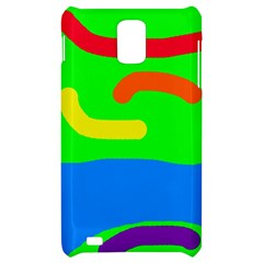 Rainbow abstraction Samsung Infuse 4G Hardshell Case