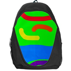 Rainbow abstraction Backpack Bag