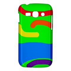 Rainbow abstraction Samsung Galaxy Ace 3 S7272 Hardshell Case