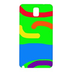 Rainbow abstraction Samsung Galaxy Note 3 N9005 Hardshell Back Case