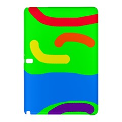 Rainbow abstraction Samsung Galaxy Tab Pro 10.1 Hardshell Case