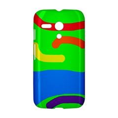 Rainbow abstraction Motorola Moto G