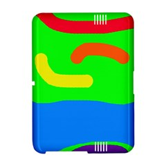 Rainbow abstraction Amazon Kindle Fire (2012) Hardshell Case