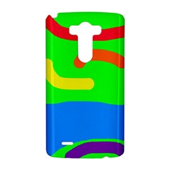 Rainbow abstraction LG G3 Hardshell Case