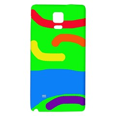 Rainbow abstraction Galaxy Note 4 Back Case