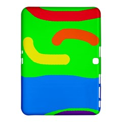 Rainbow abstraction Samsung Galaxy Tab 4 (10.1 ) Hardshell Case