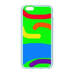 Rainbow abstraction Apple Seamless iPhone 6/6S Case (Color)