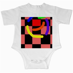 Multicolor abstraction Infant Creepers
