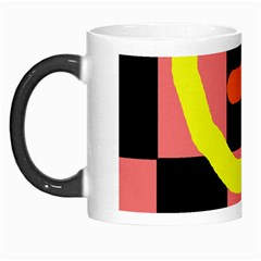 Multicolor abstraction Morph Mugs