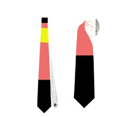 Multicolor abstraction Neckties (One Side)