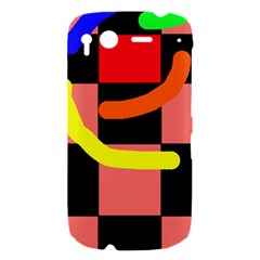 Multicolor abstraction HTC Desire S Hardshell Case