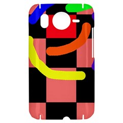 Multicolor abstraction HTC Desire HD Hardshell Case